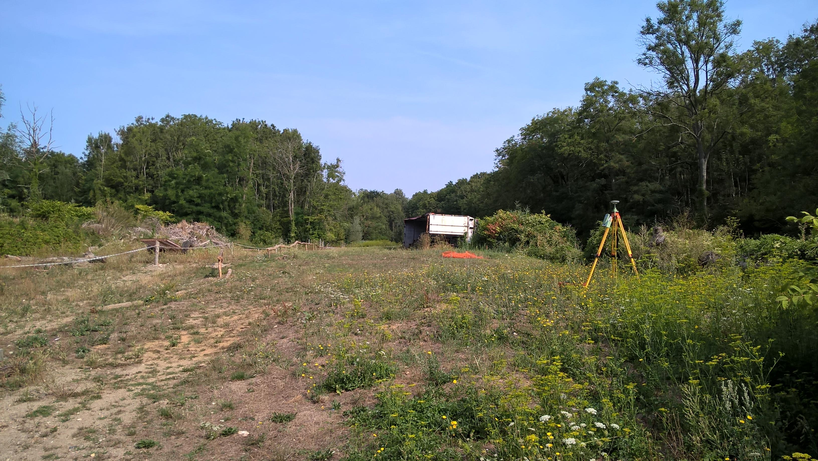 Caractérisation d'une ancienne décharge sur la commune d'Essômes sur Marne par méthode électromagnétique EM31