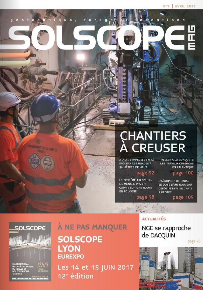 Article dans la revue Solscope : Comment optimiser la relation Géotechnique Géophysique