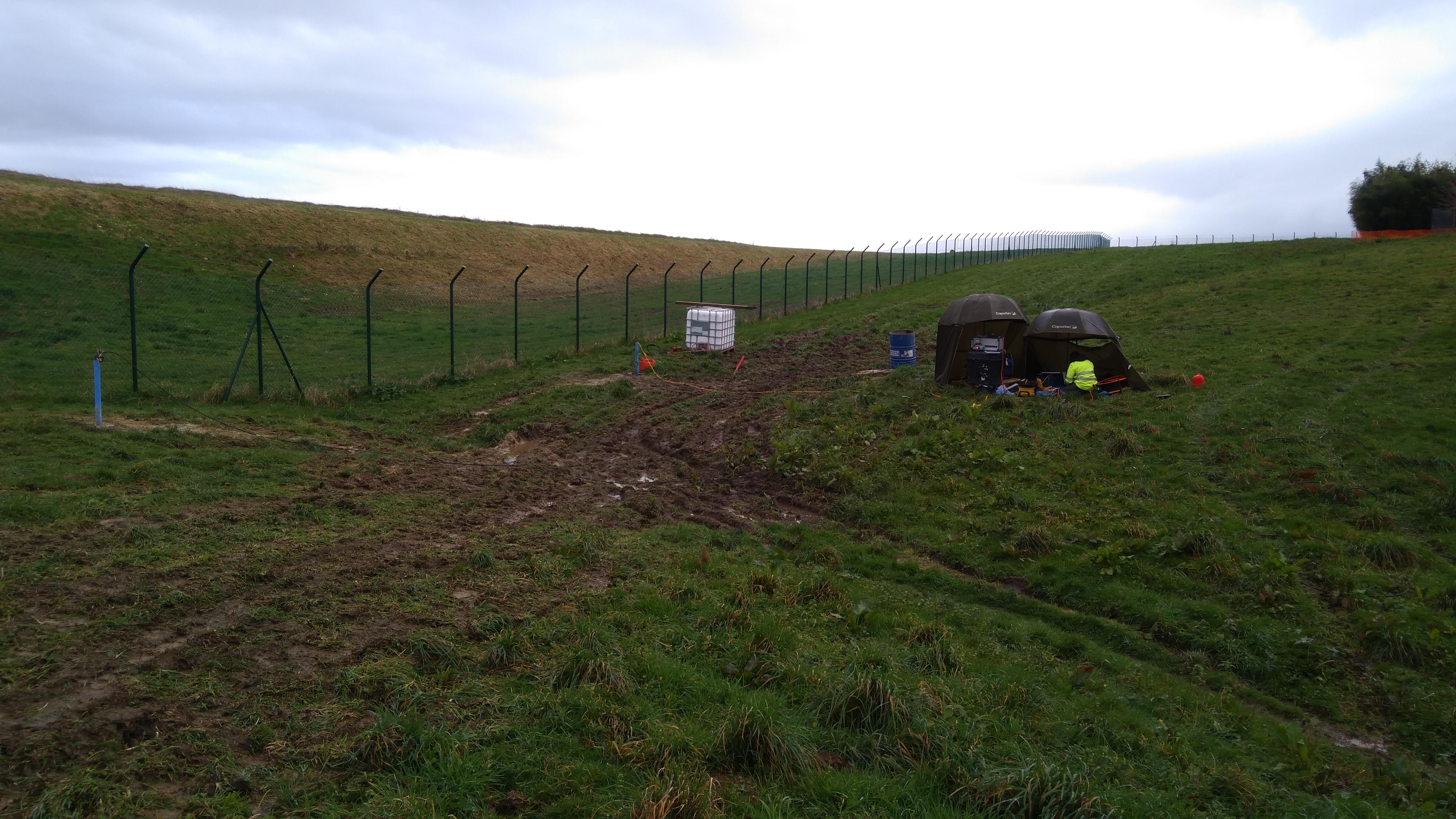 Aéroport Biarritz Pays Basque (64) – Investigation géophysique par Tomographie sismique entre forages