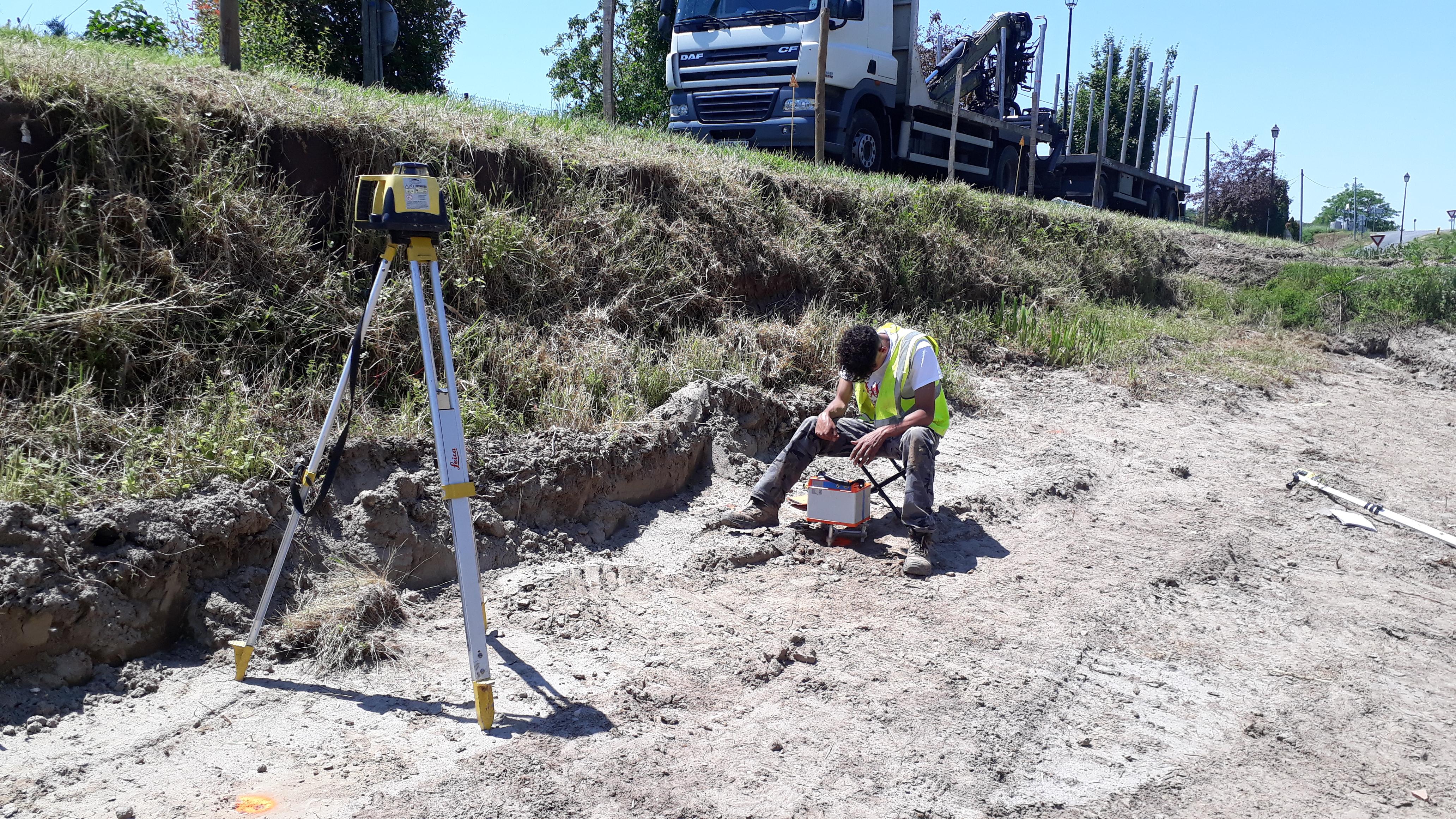 Canal de Lalinde Sainte Capraise de Lalinde (24) – Recherche de cavités par méthodes géophysiques