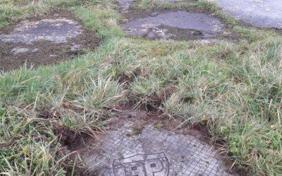 Aérodrome de la Baule Escoublac (44) – Mise en évidence d'anciennes fondations et d'objets métalliques enfouis dans le cadre de la construction d'ouvrages