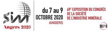 ArkoGéos partipe au salon Société de l'Industrie Minière (SIM) du 7 au 9 octobre 2020 à Angers